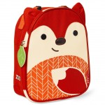 SKIP HOP Zoo Lunchie Insulated Kids Lunch Bag (Fox)