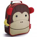 SKIP HOP Zoo Lunchie Insulated Kids Lunch Bag (Monkey)