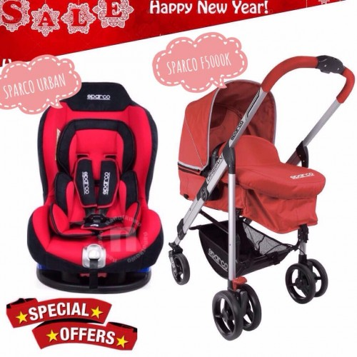 [NEW YEAR PROMO] SPARCO URBAN AND SPARCO F5000K