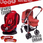 [NEW YEAR PROMO] SPARCO URBAN AND SPARCO F2000K