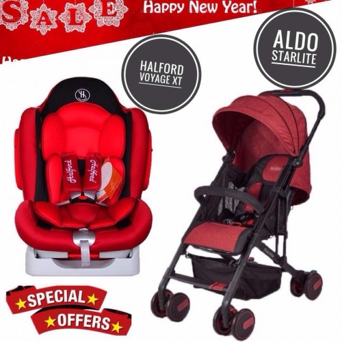 [NEW YEAR PROMO] ALDO STARLITE AND HALFORD VOYAGE XT