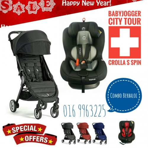 [NEW YEAR PROMO] BABY JOGGER CITY TOUR AND CROLLA S SPIN
