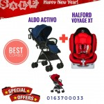 [NEW YEAR PROMO] ALDO ACTIVO AND HALFORD VOYAGE XT