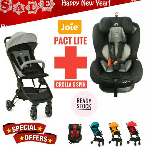 [NEW YEAR PROMO] JOIE PACT LITE AND CROLLA S SPIN