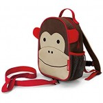 SKIP HOP Zoo Let Mini Backpack With Rein (Monkey)