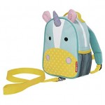 SKIP HOP Zoo Let Mini Backpack With Rein (Unicorn)
