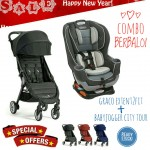 [NEW YEAR PROMO] BABY JOGGER CITY TOUR AND GRACO EXTEND2FIT
