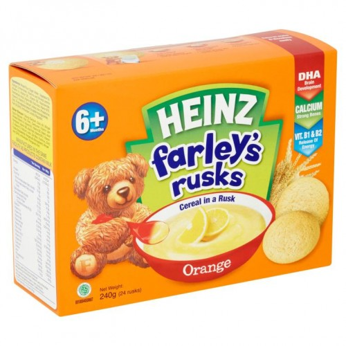 Heinz Farley's Orange Rusks