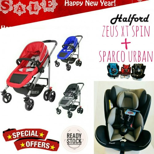 [NEW YEAR PROMO] SPARCO URBAN AND HALFORD ZEUS XT SPIN 360