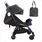 Aldo Compatto Baby Stroller New Design (Black)