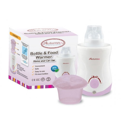 AUTUMNZ Bottle & Food Warmer LILAC (Home & Car Use)