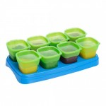 EASY Breastmilk & Baby Food Storage Cups (2oz) - Green