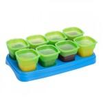 EASY Breastmilk & Baby Food Storage Cups (2oz) - Green