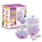 AUTUMNZ 2-in-1 Electric Sterilizer & Food Steamer (Lilac)