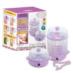 AUTUMNZ 2-in-1 Electric Sterilizer & Food Steamer (Lilac)