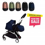 BABYZEN YOYO Plus 0+ (Black Frame + Air France) FREE TROLLY BAG