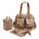 BEABA Monaco Changing Bag - Gold