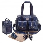 BEABA Monaco Changing Bag - Navy Blue