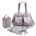 BEABA Monaco Changing Bag - Silver