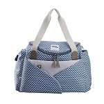 "BEABA Sydney II changing bag ""PLAY PRINT"" - Blue"