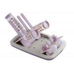 Beaba Foldable Draining Rack (Pastel Pink)