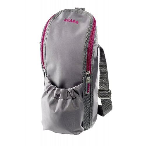 Beaba Isothermal Bag with Bibcar (Grey)