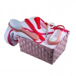 Beaba Personal Care Basket (Nude/Coral)