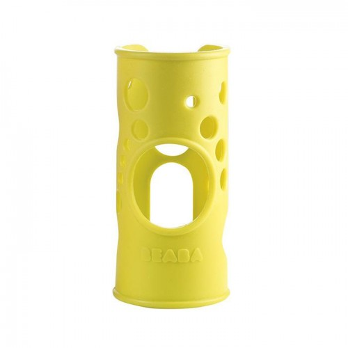 Beaba Silicone Cover for Glass Bottle 250ml (Gipsy Green)