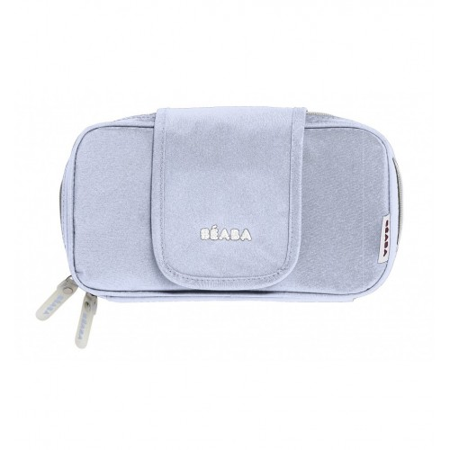 Beaba Wipe Case (Grey/Blue)