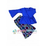 Blouse Baby Doll (Blue)