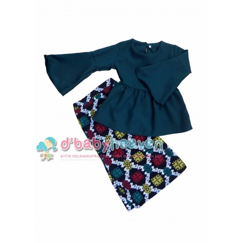 Blouse Baby Doll (Green)
