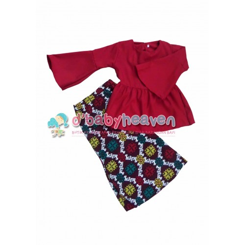 Blouse Baby Doll (Red)