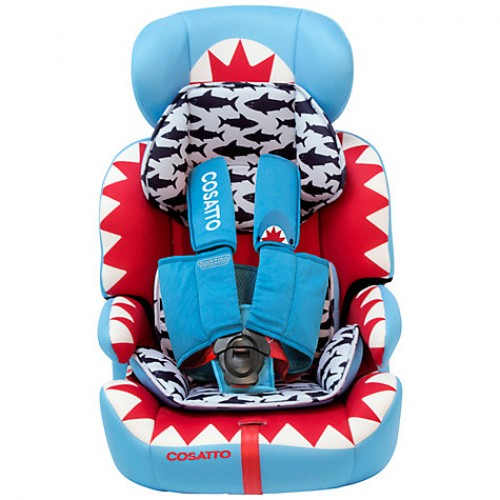 ZOOMI GROUP 123 ANTI-ESCAPE CAR SEAT - BIG FISH