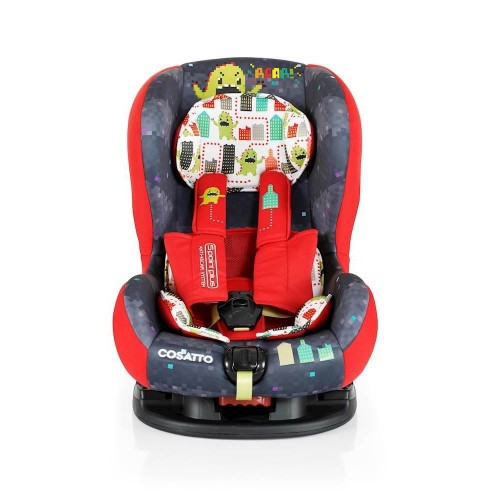 Cosatto Moova 2 Group 1 Car Seat -  Monster Arcade
