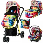 Cosatto Giggle 2 Travel System - Pixelate