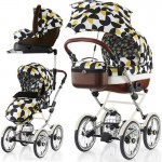 Cosatto Wonder 3in1 Travel System With Car Seat Base-Hepburn (New) Limited Edition!