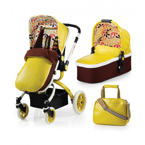 Cosatto Ooba Travel System (3 in 1 Pram & Pushchair) – Marzipan