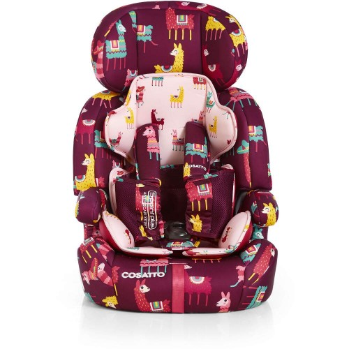 ZOOMI GROUP 123 ANTI-ESCAPE CAR SEAT - ILAMARAMA