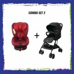 CROLLA S+ ISOFIX RED + CROLLA AIR FLEX COMBO