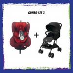 CROLLA S+ ISOFIX 360 RED + CROLLA AIR FLEX COMBO