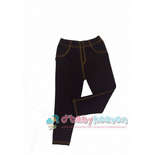 CHEROKE JEGGING (BROWN)