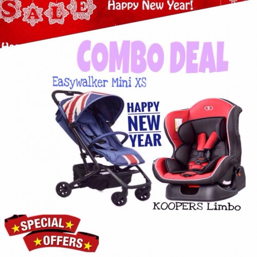 [NEW YEAR PROMO] EASYWALKER MINI XS AND KOOPERS LIMBO