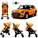 EASYWALKER - MINI BUGGY STROLLER ORANGE