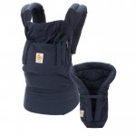 Ergobaby Organic Collection: Bundle of Joy Navy with Navy Infant Insert