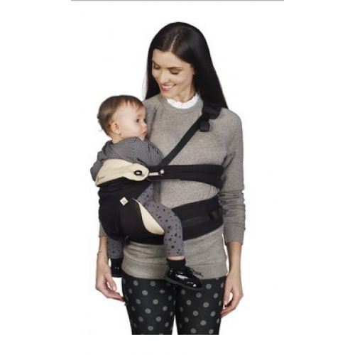 Four Position 360 Baby Carrier Pure Black