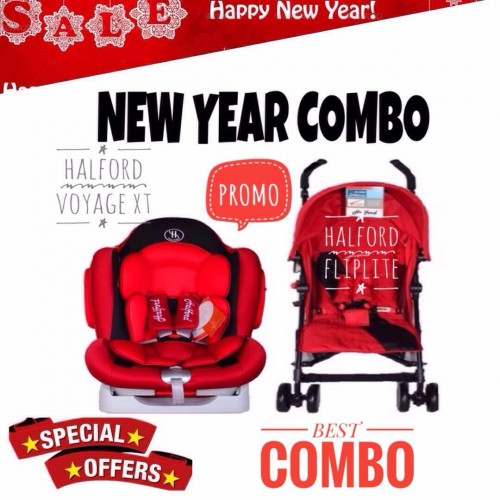 [NEW YEAR PROMO] HALFORD FLIPLITE AND HALFORD VOYAGE XT