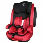 Halford Kitz Isofix Booster Seat - RED