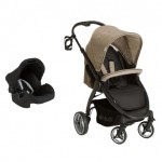 Hauck Lift Up 4 Travel System With Zero Plus Carrier - Melange Beige