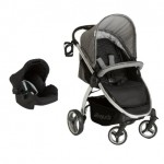 Hauck Lift Up 4 Travel System With Zero Plus Carrier - Melange Grey