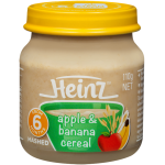 Heinz Apple & Banana Cereal
